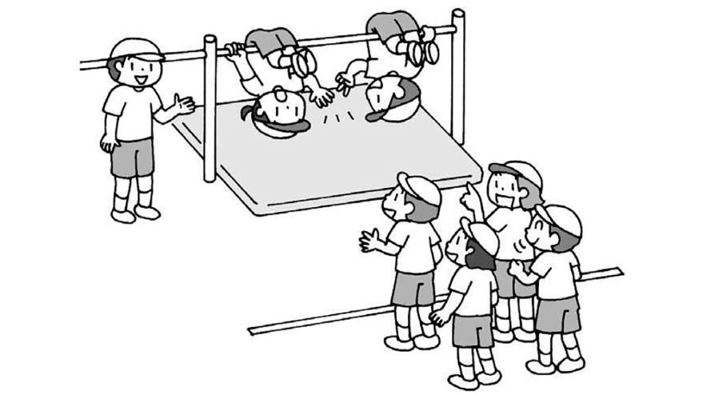 小2体育「器械・器具を使っての運動遊び」指導のポイント