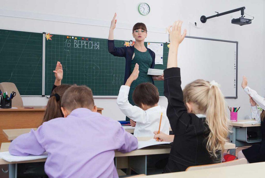 授業中のイメージ
