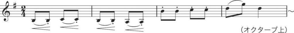 C部の音楽 ハンガリー楽譜