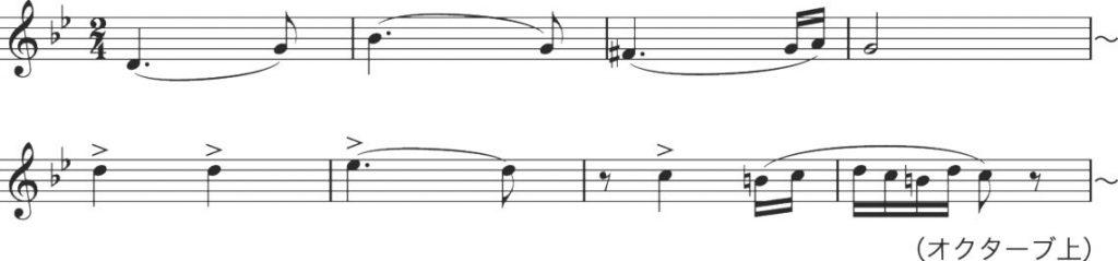 ハンガリー3 楽譜