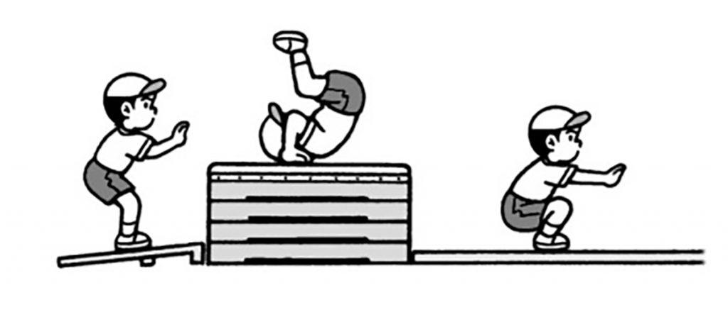 小3体育「器械体操(跳び箱運動)」指導のポイント