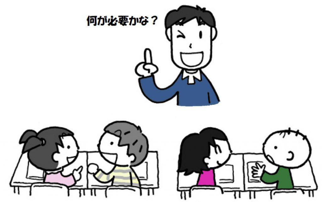 小3国語「はりねずみと金貨」になろう指導アイデアのイメージイラスト