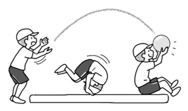 ボールキャッチ(空間・用具)