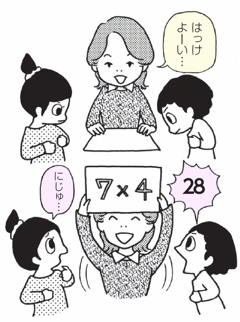 かけ算九九⑦「九九相撲」