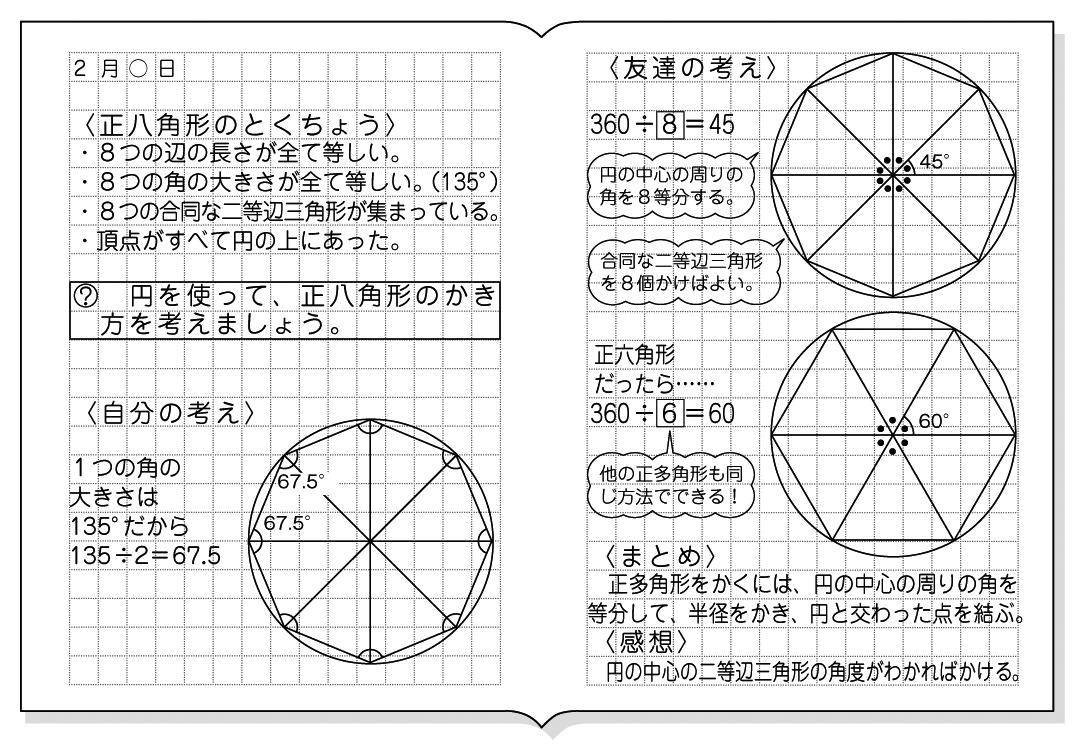 小5算数「正多角形と円」指導アイデア|みんなの教育技術