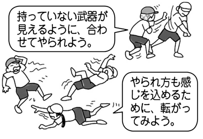 (例)武士の対決