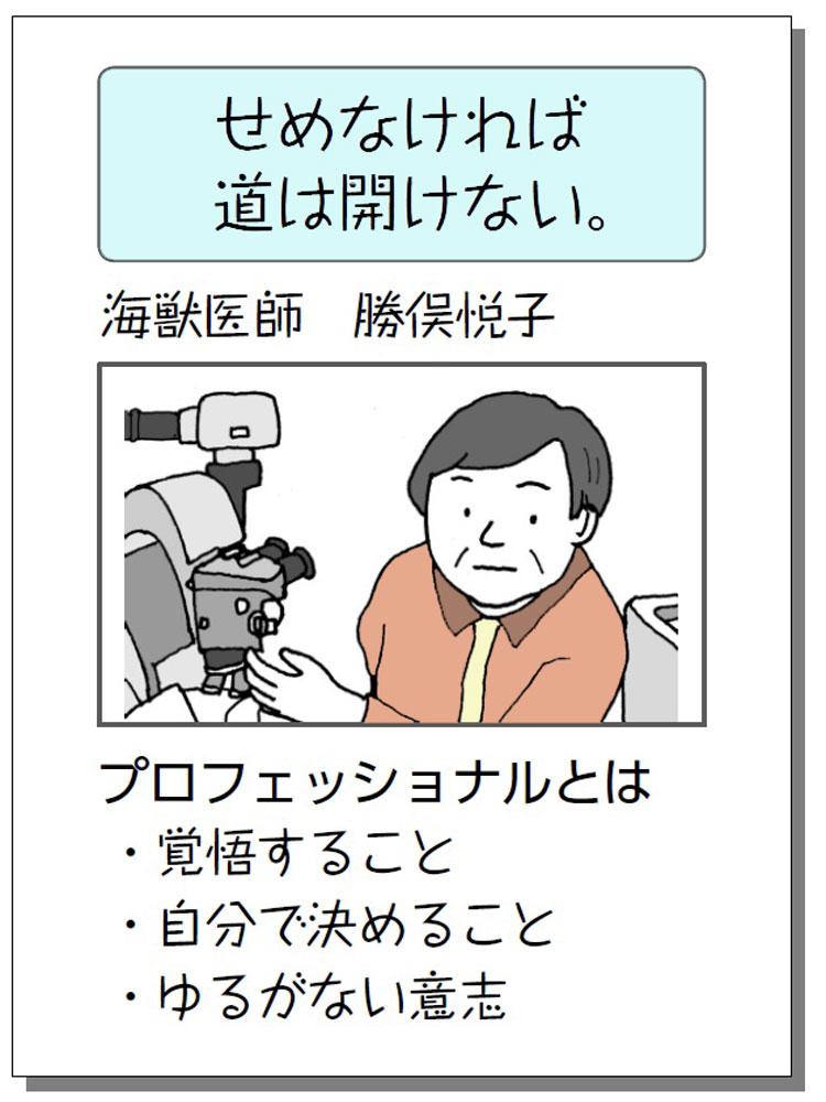 人物PRポスターの例