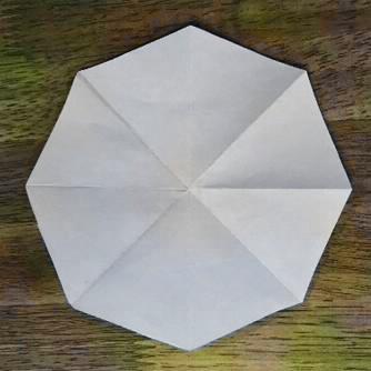 正八角形の紙