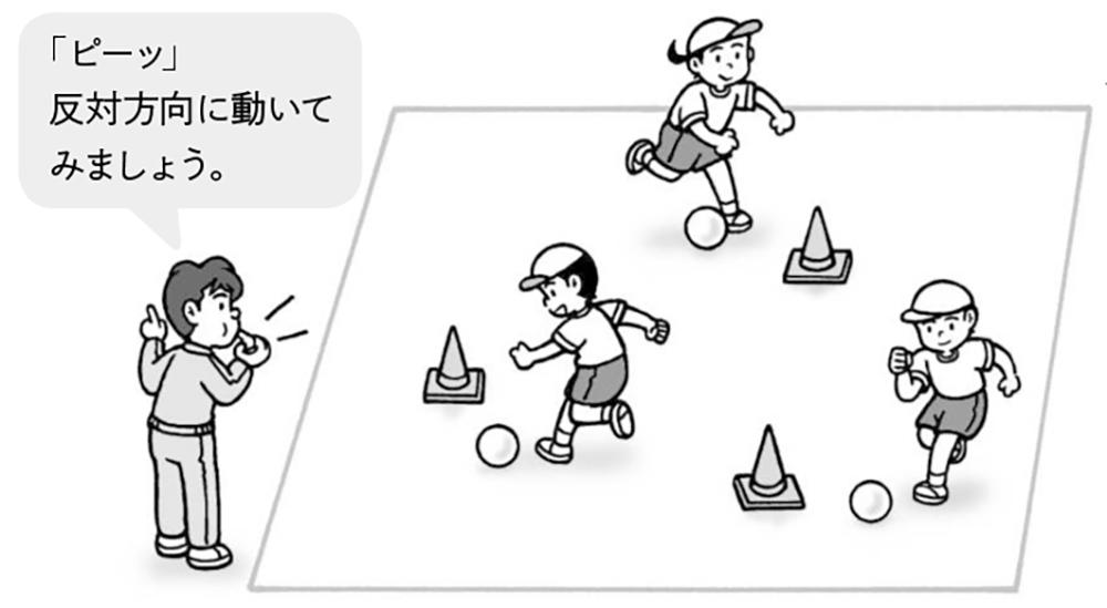 ボールタッチ遊び