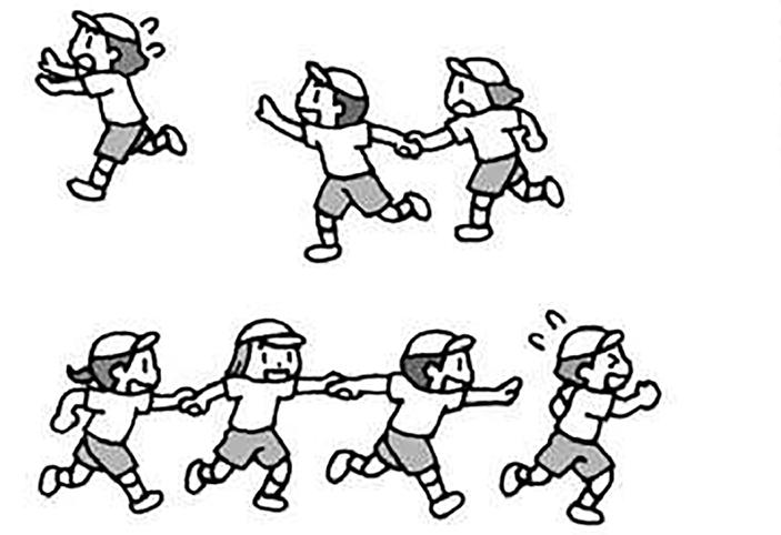 小1体育「ゲーム(鬼遊び)」指導のポイント