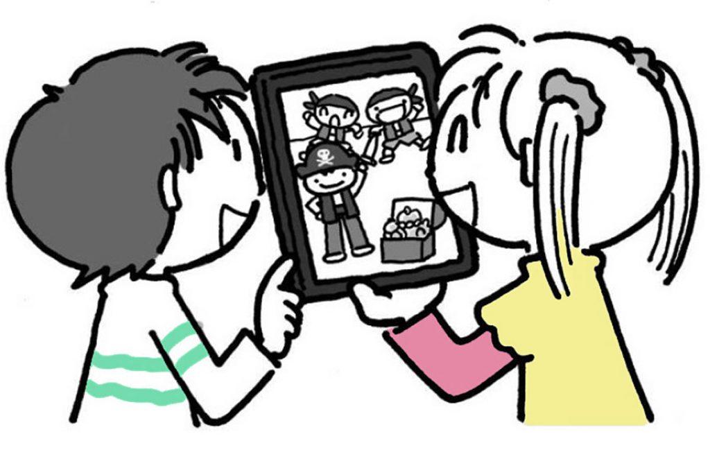 小4国語「木竜うるし」指導アイデアのイメージイラスト