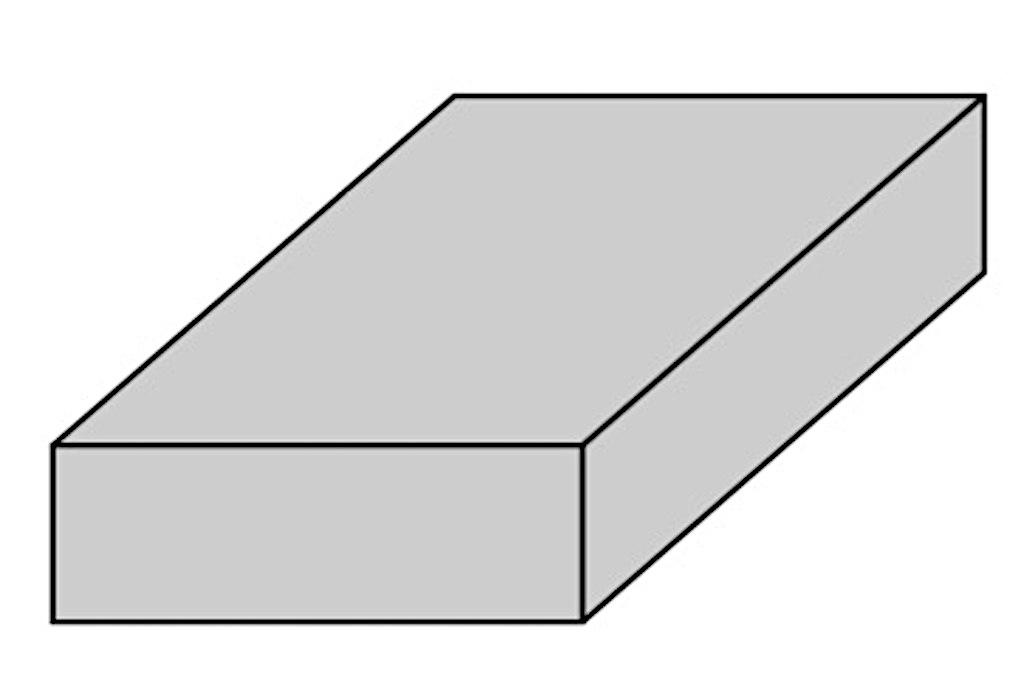 たからばこである長方体