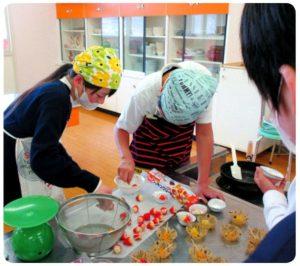 調理実習「クッキーづくり」