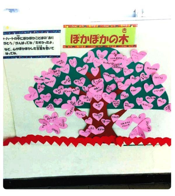 ありがとういっぱい「ぽかぽかの木」