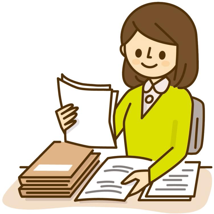 文書を分類する教師