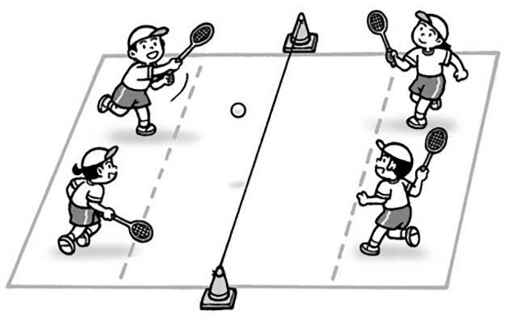 小4体育「ゲーム(ネット型ゲーム)」指導のポイント