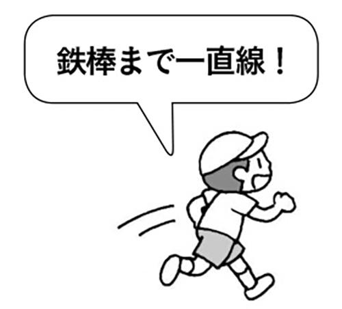 ○○にタッチ