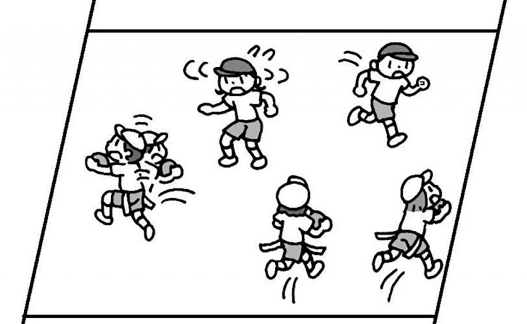 小2体育「ゲーム(鬼遊び)」指導のポイント