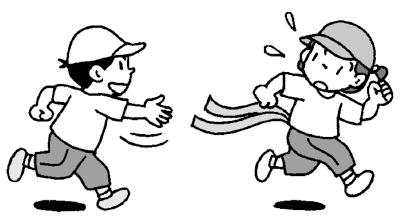 小4体育「走・跳の運動(かけっこ・リレー)指導のポイント