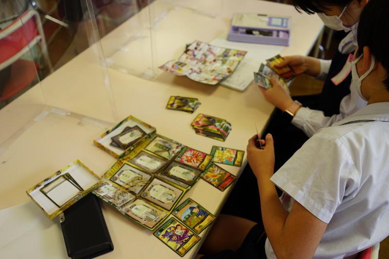 「田んぼウォーズ」というカードゲームを使った授業