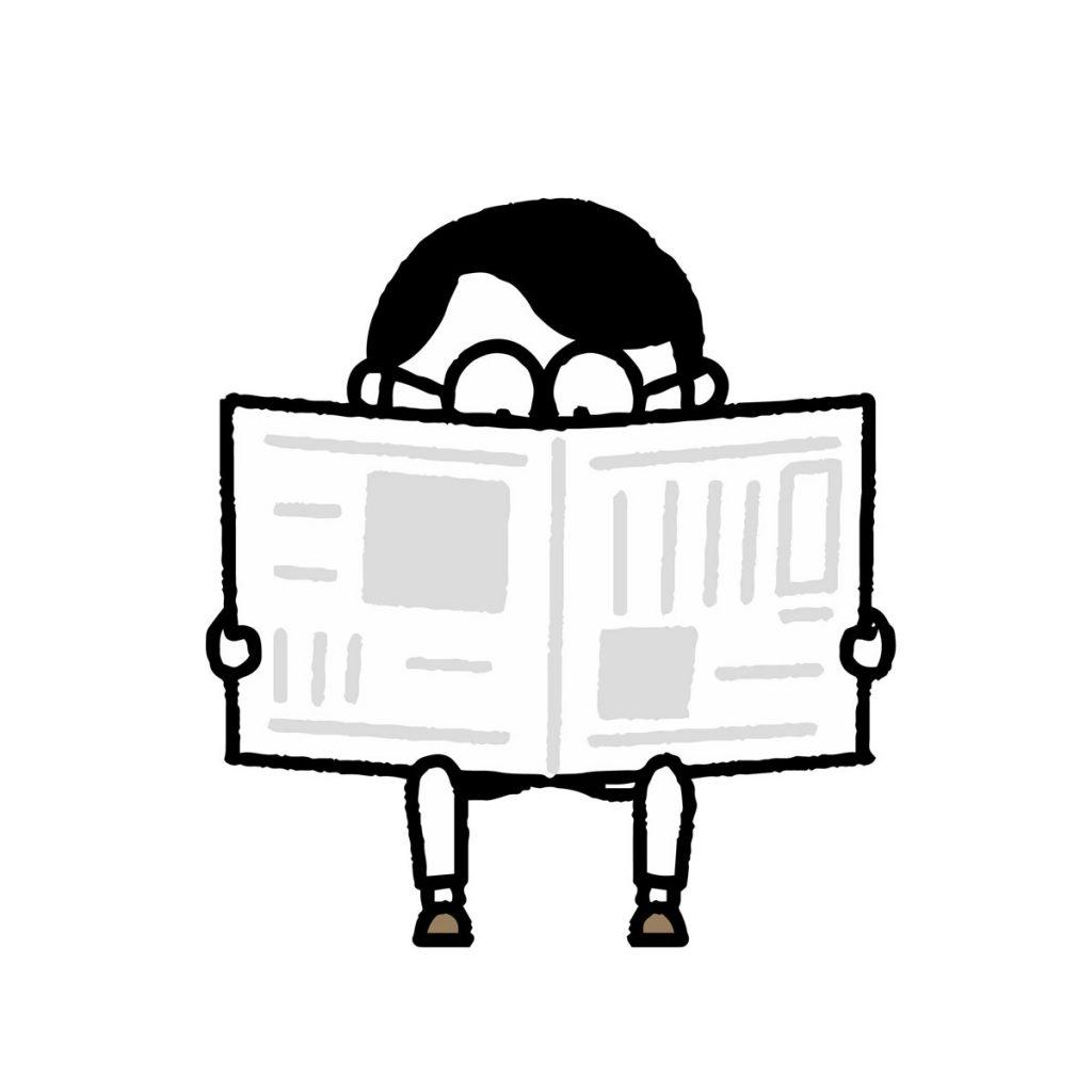 小4国語「新聞を作ろう」指導アイデアのイメージイラスト