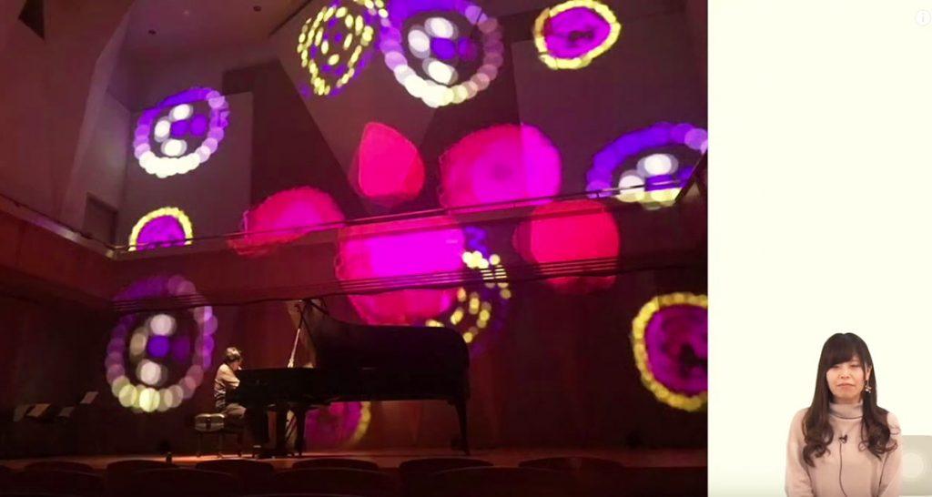 岩本先生1 音楽とのコラボ