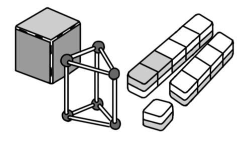 算数教材(立体やブロックなど)