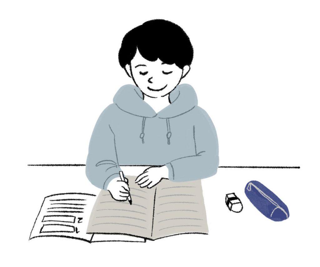 小5国語「新聞を読もう」指導アイデアのイメージイラスト
