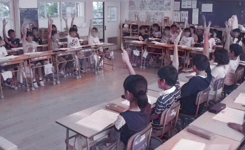 学級の様子の写真