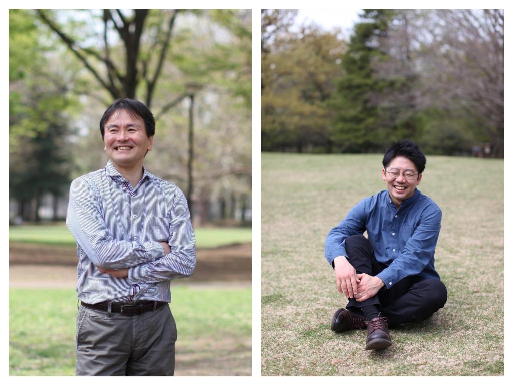 堺谷武志さん(左)と五木田洋平さん(右)