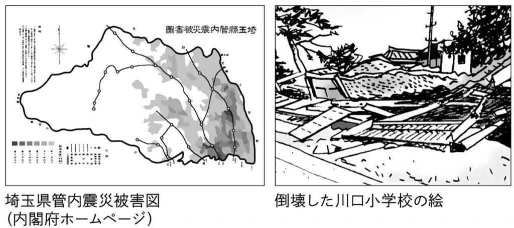 関東大震災被害図