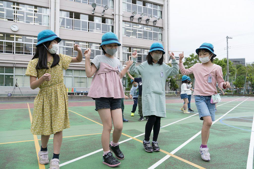 屋内・屋外の「夏休み明け学級レク」