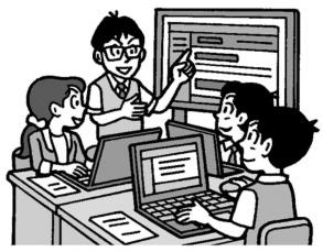 学校におけるICT活用シーン