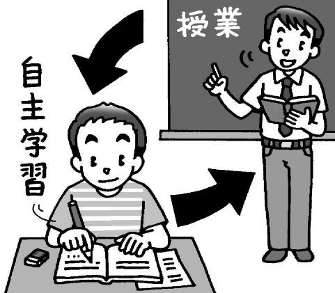 授業と自主学習の関係