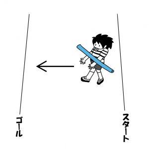 線から線まで移動